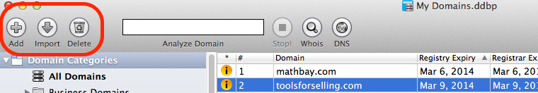 adding domains (mac)