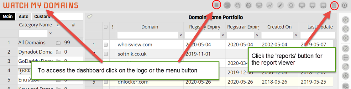 Watch Series New Domain 2020.Configure Watch My Domains Sed V4